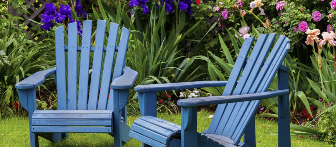 Real wood chairs for your patio or deck