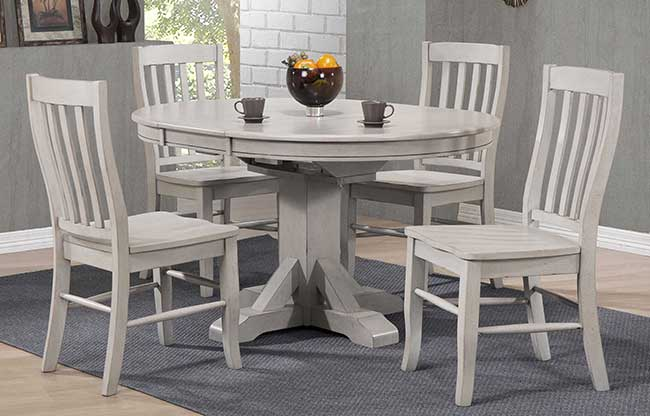 carmel-pedestal-table-butterfly-leaf-gray-finish